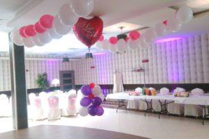 Dekoracje z balonów z Helem