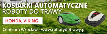 Roboty do trawy, kosiarki automatyczne Wrocław