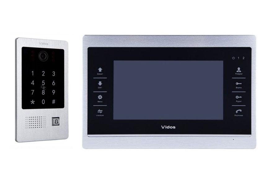 Wideodomofon z czytnikiem i szyfratorem – Vidos S20DA M901