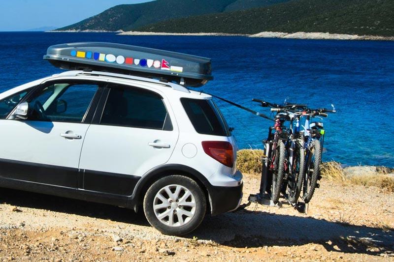 Bagażniki rowerowe do wynajęcia