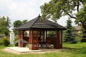 Drewniana altana ogrodowa Classic