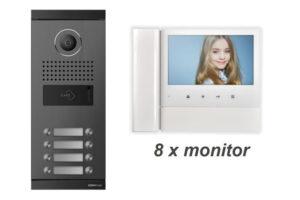 Commax CDV-70NM –  Wideodomofon 8-Rodzinny z pamięcią